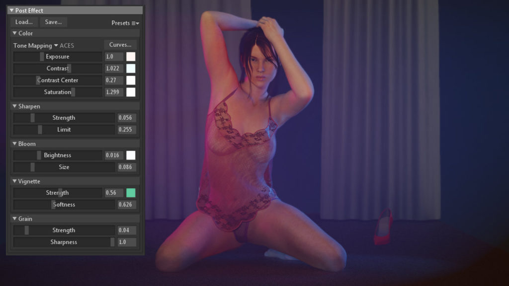 Marmoset toolbag lighting picture